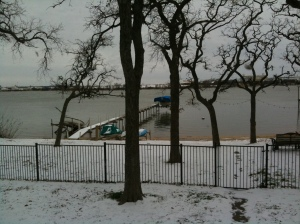 Lake Worth in winter
