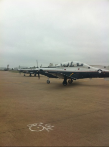 T-6 Texan II's at Alliance Airport